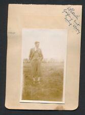 1930 Vintage Golf Autograph Sheet A. HARRIS/WILLIAM BRANCH + Vintage Photos