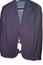 38 R NAVY Blazer Slim ARMANI Certicate Authenticity 100% Wool Org:$1395 38R=48EU