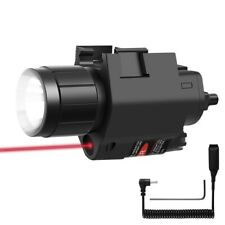 Tactical Led Weapon Gun Light Red Dot Laser Sight Flashlight Combo