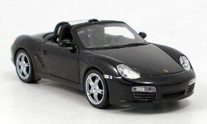 Welly Models Porsche Boxter S Conv. Black - 1:24