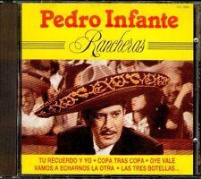 PEDRO INFANTE - Rancheras - SPAIN CD Perfil 1990 - 20 Canciones / 20 Tracks New