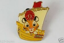 Tokyo Disney Resort Game Prize Pin Chandu Riding Ship  TDR JAPAN