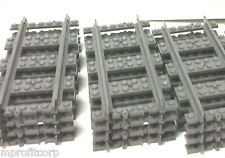12 NEW LEGO Straight tracks /FastShip LEGO TRACKS / best value lego train tracks