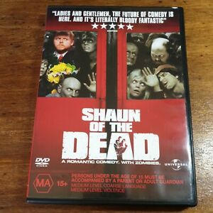 Shaun of the  Dead DVD R4 LIKE NEW FREE POST