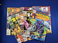 MACHINE MAN 7 Pack/Lot (MARVEL) #2 , 2001 Space Odyssey #4 #5 #10 + X51  KEYS