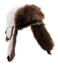 Bonnet Chapka avec doublure type fourrure - Blanc - L - Pearl Urban