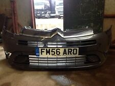 CITROEN C4 GRAND PICASSO FRONT BUMPER GENUINE WITH LOOM FOR FOG LAMPS-ICARUS