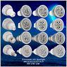 Dimmable LED Spotlight Bulb GU10 MR16 E27 E14 9W 12W 15W CREE 85-265V 2800-6500K