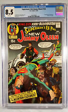 Jimmy Olsen #134 - White Pages CGC 8.5 VF+