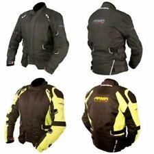 Chaquetas negros textiles ARMR Moto para motoristas