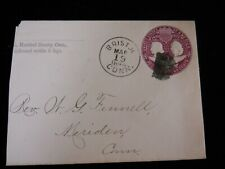1894 Antique Mailing Cover / Envelope Hartford County Conn Bristol Stamp