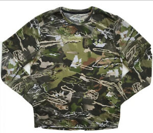 UNDER ARMOUR Mens Early Season Forest Camo Hunting Shirt 1298962 NWT XL