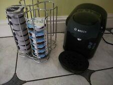 Bosch Tassimo Coffee Maker Model CTPM07 Pod System Machine and pod holder set