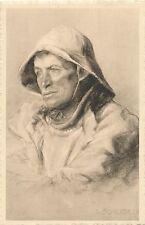 POSTCARD  BELGIUM   Fisherman       Scherbeck