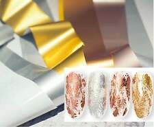 10x100cm Metallic transfer paper Foil Nail Art Sticker Decal/ DIY Golden nail