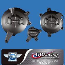 GB Racing Ninja 650 Engine Cover Slider Set - 2006-16 Kawasaki 650R ER6 KLE650