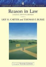 Reason in Law Update, Longman Classics Edition (7th Edition) Carter, Lief, Burk