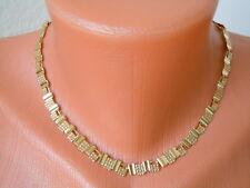 """Altes """"Amerik"""" Gold Double vergoldetes Collier/Kette 13,2 g/40-45 cm"""