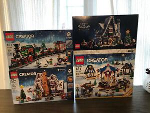LEGO CHRISTMAS WINTER BUNDLE 10235 10275 10254 10267    (NEW/Sealed)