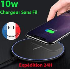 Chargeur sans Fil Induction RAPIDE 10W Iphone 11 X XR Samsung S10 S9 XIAOMI