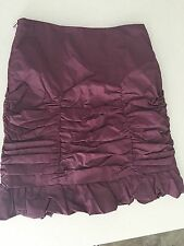 CHARLIE BROWN DESIGNER QUALITY LINED SKIRT WORKWEAR SZ 8