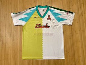 1996 1997 San Jose Clash Soccer Jersey Nike MLS Earthquakes USA NASL USL Large