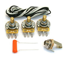 Standard Style Wiring Harness Kit for 70s-up USA Fender Jazz/J Bass® WKJ-STD