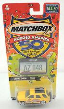 """2001 Matchbox Across America 50 Birthday Series """"Arizona Isuzu Rodeo"""""""