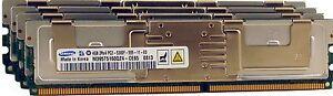16GB (4X4GB) FOR INTEL D5400XS NSW1U SR2500 SBXD132 MFS5000SI S7000FC4UR