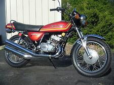 Kawasaki KH250 A5 B1 Triple Decal Set - Red Bike  - THE BEST