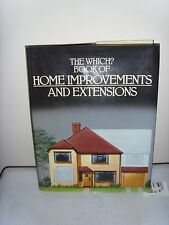 The Which book of Home Improvments and Extensions