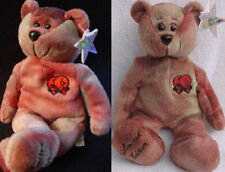 "Classic Collecticritters 1999 ""Rocky"" Tie-Dye Teddy Bear Bean Mwmt!"