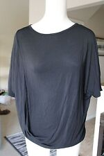 NWT BY MALENE BIRGER BLACK  ISOLDE SOFT LARGE SHIRT NEW TAGS DOLMAN
