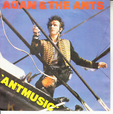 """ADAM AND THE ANTS Ant Music PICTURE SLEEVE 7"""" 45 rpm record NEW + juke box strip"""