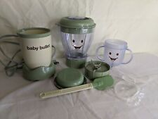 Magic Baby Bullet Food Blender Processor System with Cups & Books 25+ Pieces