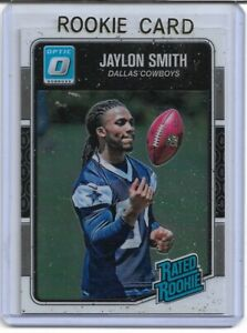 JAYLON SMITH 2016 OPTIC RATED ROOKIE CARD RC DALLAS COWBOYS