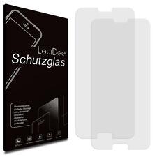 Schutzglas Schutzfolie Echt Glas 0,3mm 9H Panzerglas 2er Posten Set - LouiDee
