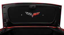 2005-2013 C6 Corvette Convertible Trunk Deck Lid Liner Rear Cover - Logo