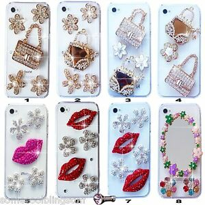 NEW 3D BLING DELUX DIAMANTE SPARKLE CASE COVER FOR MOBILE PHONE SAMSUNG iPHONE