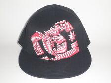 DC Shoes GIL FLEX 210 Flatbill Hat Red L/XL ($27) NEW Cap MOTO Snow BMX Skate