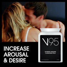 V95 EXTREME ORGASM CLIMAXING PILLS DEEPER HARDER MORE EXTREME ORGASMS SEXY