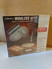 Vintage Woolzee Placemat Crochet Kit sealed Nos