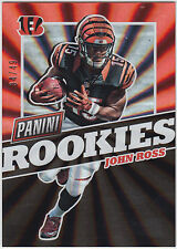 JOHN ROSS 2017 Panini National NSCC Silver Pack The Rookies Spokes #/49 Bengals