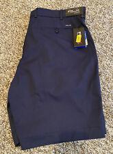 NEW Ralph Lauren RLX Mens Golf Shorts Navy Blue Size 34 NWT