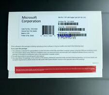 NEW Microsoft Windows 7 Pro Professional SP1 64 Bit ENG 1pk DSP DVD & HDD