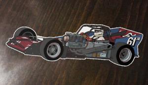 Bentley Warren - Mazur #61jr. Supermodified - Custom Art sticker