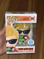Funko Pop! DragonBallZ Super Saiyan Gohan W/ Sunglasses #889 EXCLUSIVE