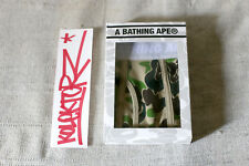 BAPE BOXER UNDERWEAR A BATHING APE GREEN CAMO MEDIUM M NEW LTD RARE NEUF SOLD 17