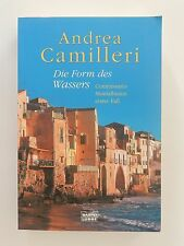 Andrea Camilleri Die Form des Wassers Montalbanos erster Fall Krimi Roman