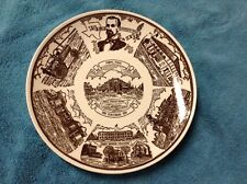 1981  Temple Texas Centenial Commemorative Plate By Kettlesprings Kilns